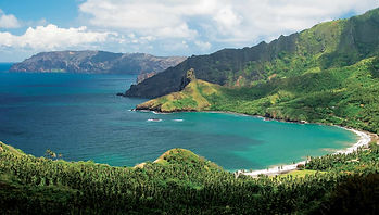 Catamran cruise Marquesas French Polynesia, Hiva Oa