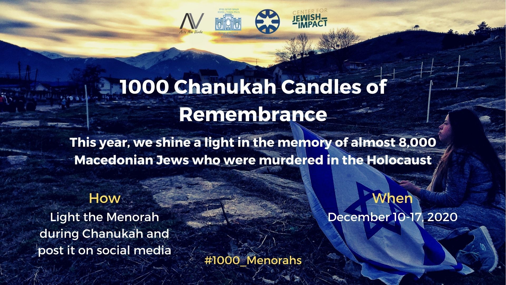 1000 Chanukah Candles of Remembrance