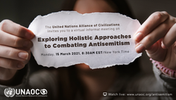 United Nations Alliance of Civilizations'Exploring Holistic Approaches to Combating Antisemitism