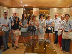 I PARTECIPANTI AL TERZO CORSO LIFE BEYOND TOURISM TRAINING FOR TRAINERS IN VISITA ALLA SAPAF