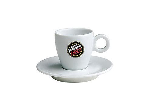 VERGNANO WHITE ESPRESSO CUPS