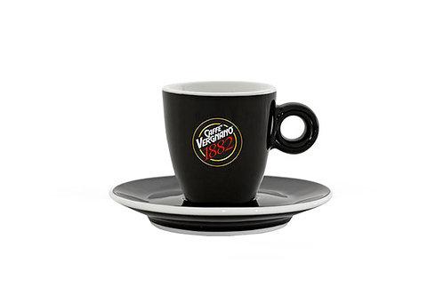 VERGNANO BLACK ESPRESSO CUPS