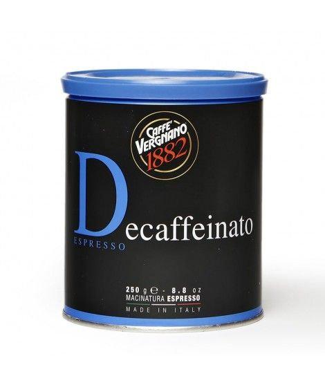 ESPRESSO DECAF 250 G CAN