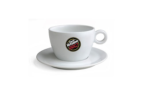 VERGNANO CAPPUCCINO CUPS 12 OZ - WHITE