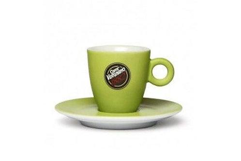 VERGNANO GREEN COLORED ESPRESSO CUPS