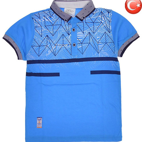 Детская футболка-поло (5-8) Артикул: 11076