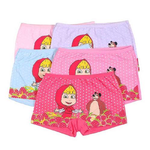 Детские трусы-шорты для девочек. Артикул w9102