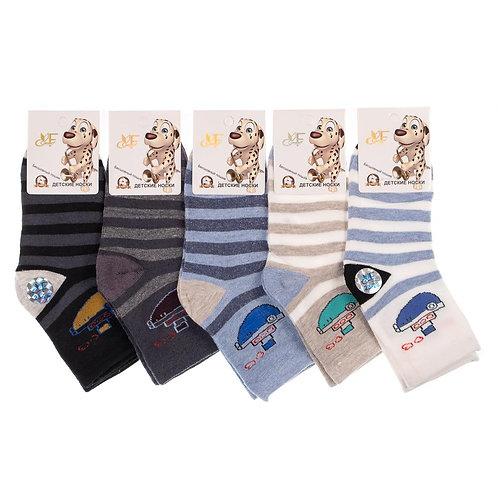 Детские носки для мальчика, бесшовный пошив. Артикул fcc21