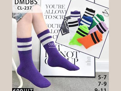 Детские хлопковые высокие носки CL-237