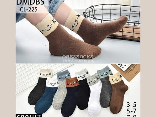 DMDBS Хлопковые носки для мальчиков разных расцветок отличного качества арт. CL-