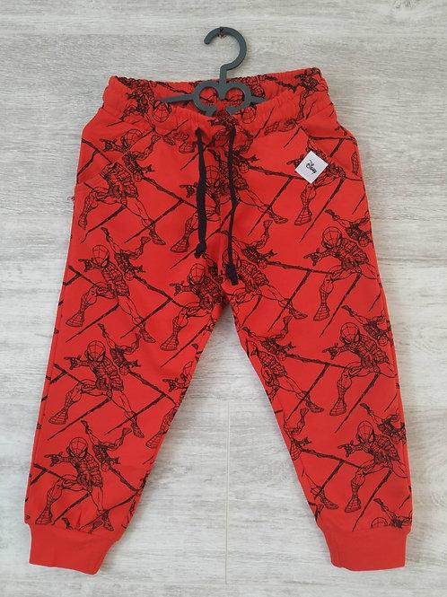 Яркие детские спортивные штаны из хлопка.  Артикул: 13476