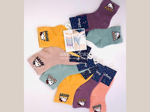 Детские хлопковые яркие носочки .Арт.CL-316