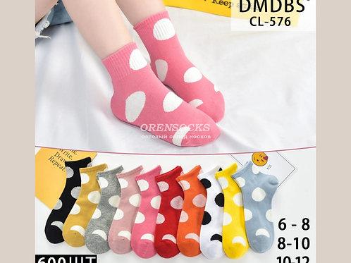Детские хлопковые носки для девочек CL-576