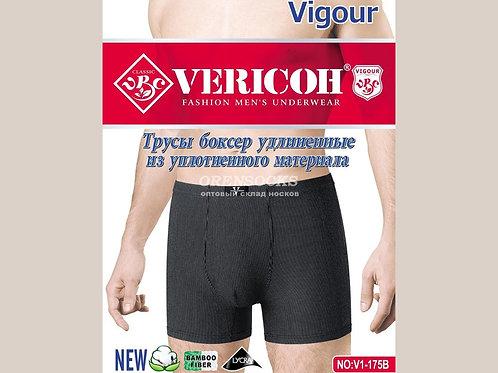 Vericon Мужские трусы боксеры удлиненные из уплотненного материала(48-50,50-52,5