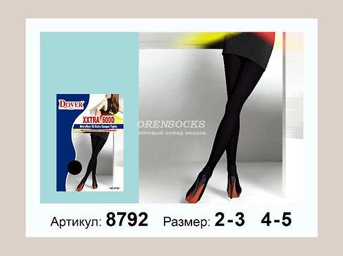 DOVER колготки женские 600 den плотные матовые ,качественный товар! не маломерки
