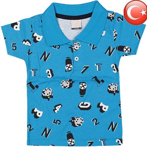 Детская футболка-поло (5-8) Артикул: 13247