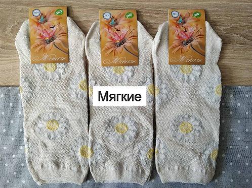 Носки женские Бабочка отличного качества приятные к телу. Артикул zhn-026
