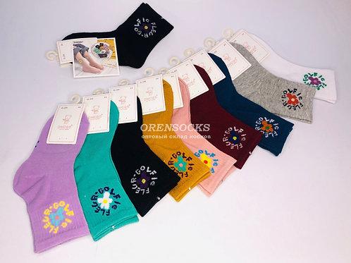 DMDBS Детские хлопковые носки для девочек отличного качества арт. CL-233