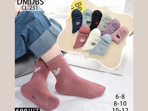 DMDBS Детские хлопковые носки для девочек, разных расцветок арт. CL-251