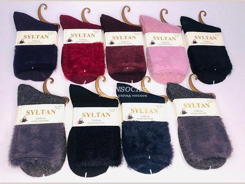 SYLTAN Женские носки ароматизированные на широкой резинке из соболя, (ангора+соб