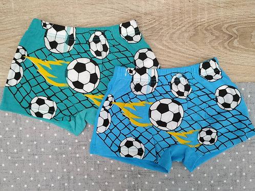 Детские трусы-шорты для мальчиков Футбольный мяч.  Артикул w7210