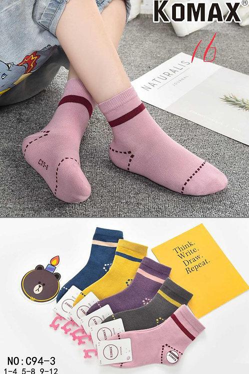Детские носки Строчка KOMAX. Стильные, плотные, качественные.