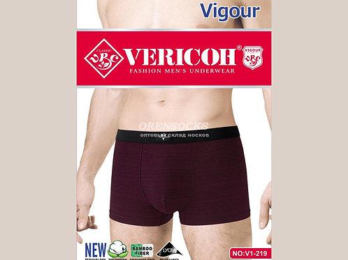 VERICON мужские трусы боксеры размеры 48-50,50-52,52-54,54-56 в упаковке 8 штук,