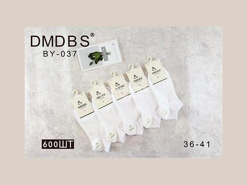 Женские носки DMDBS белые  очень качественные BY-037
