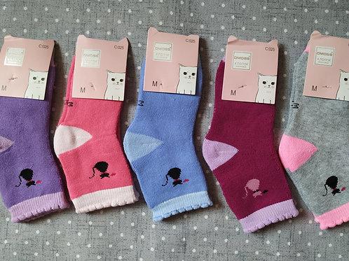 Детские носки внутри махровые хлопковые. Артикул C025