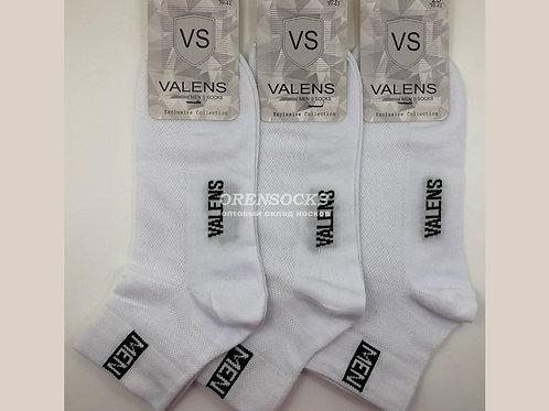 VALENS носки мужские сетка спорт Белые М3
