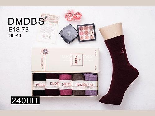 DMDBS женские носки в подарочной упаковке кашемир B18-73