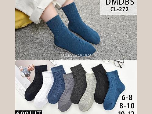 DMDBS Детские носочки отличного качества, плотные, разных расцветок средней длин