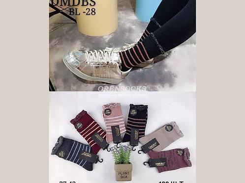DMDBS женские плотные носки артикул BL-28