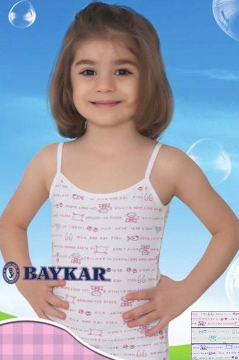 4620 Майка д/дев многоцвет (BAYKAR)