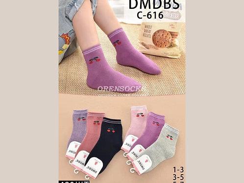 DMDBS Детские носки внутри махра на девочку мягкие хорошего качества C616