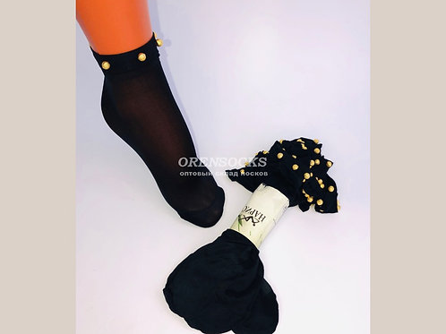 Капроновые женские носочки артикул 1001