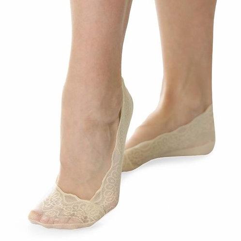 Женские аккуратные невидимые носки Elise's. Артикул e03-2