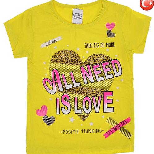 Детская футболка 2-8 Артикул: 12849