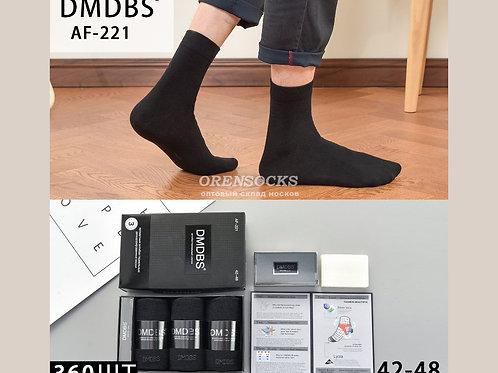 DMDBS Носки мужские в подарочной упаковке c мылом, ароматизированные по 3 пары в