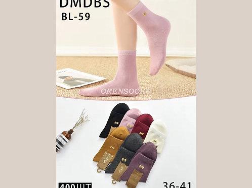 DMDBS Носки женские средней длины хорошего качества в упаковке 10 шт разных цвет