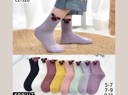 Детские носочки средней длины, отличного качества, красивые расцветки в упаковке