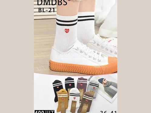 DMDBS женские плотные носки артикул BL-21