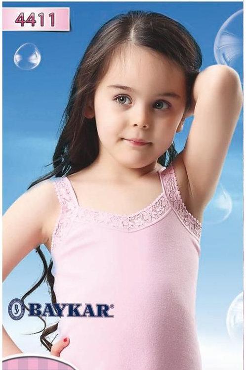 4411 Майка дев. розовая (BAYKAR)
