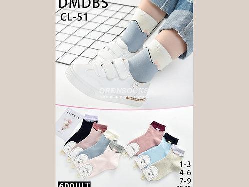 DMDBS Носки детские в упаковке 10 шт разных цветов с махровым бантиком арт.: CL-