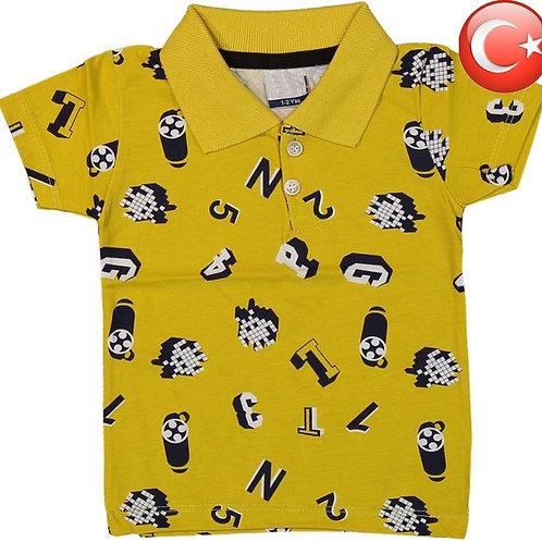 Детская футболка-поло (1-4) Артикул: 13262