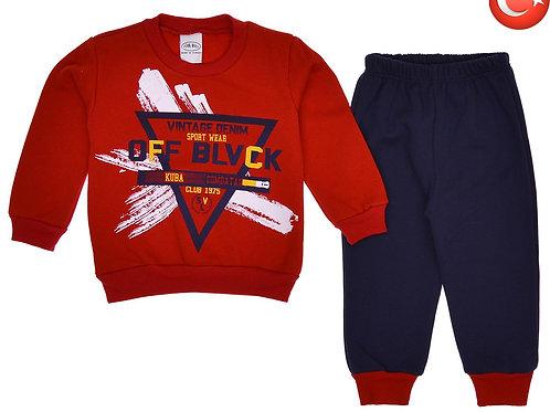 Детский костюм с начесом 2-5 Артикул: 12768