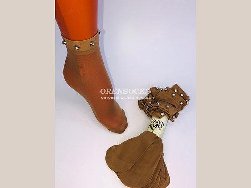 Капроновые носочки женские артикул 1002