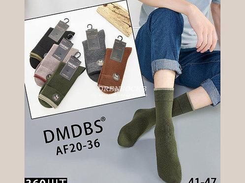 DMDBS Носки мужские кашемировые мягкие и теплые отличного качества без рисунка а