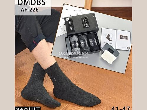 DMDBS Носки мужские в подарочной упаковке c мылом,ароматизированные по 3 пары в