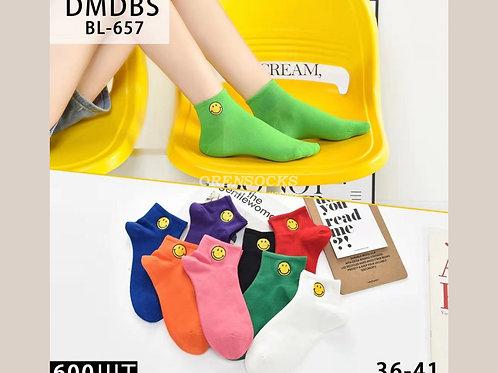 DMDBS Носки веселые женские отличного качества, укороченные, разных расцветок, а